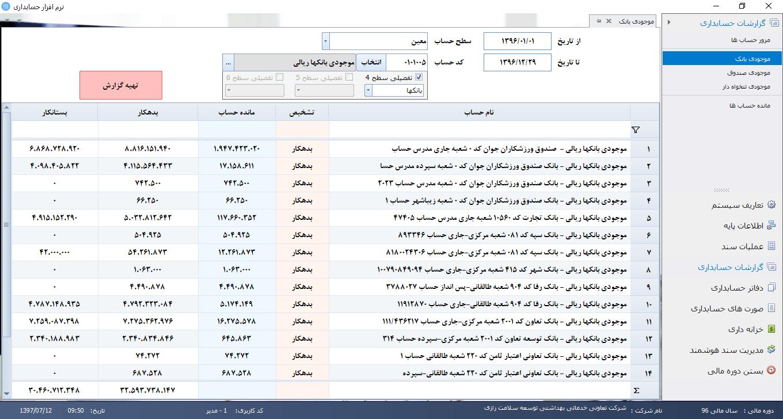 نرم افزار حسابداری درمانگاهی